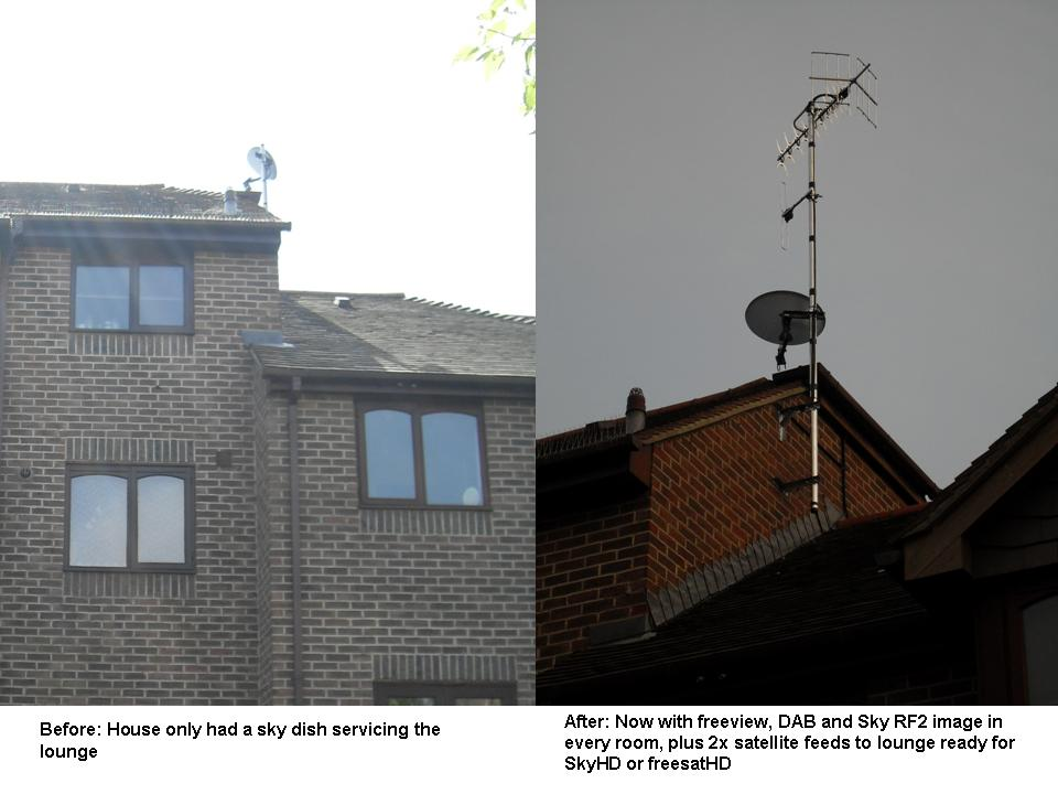 Brighton and Hove TV Aerial Installer